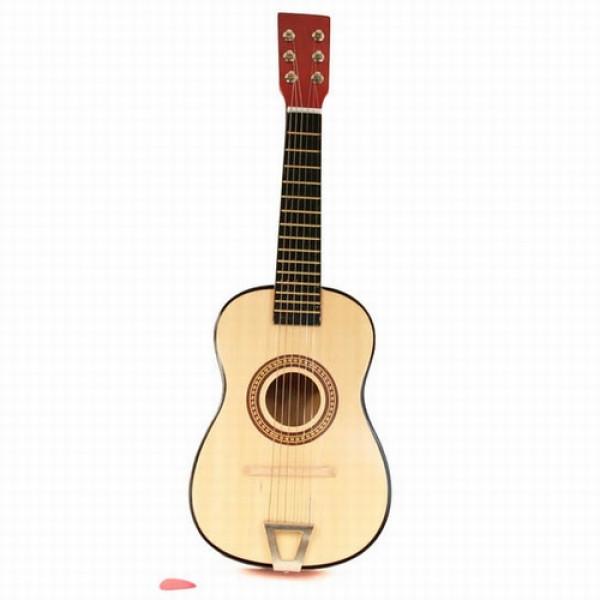 gitaar bruin / blank