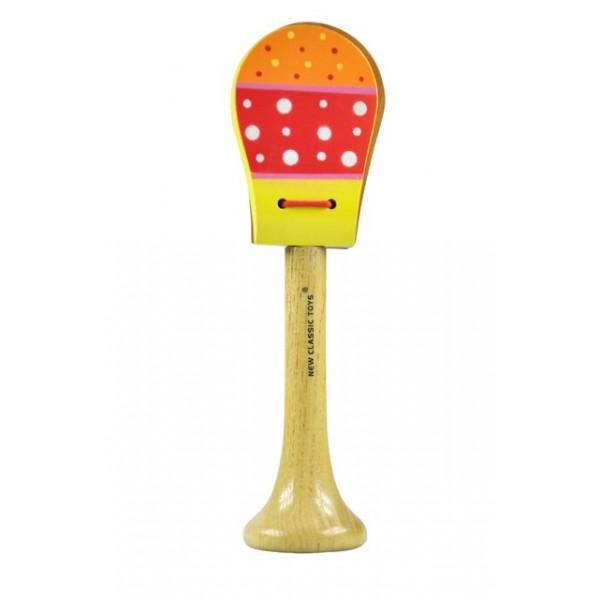 Castagnette - oranje rood geel