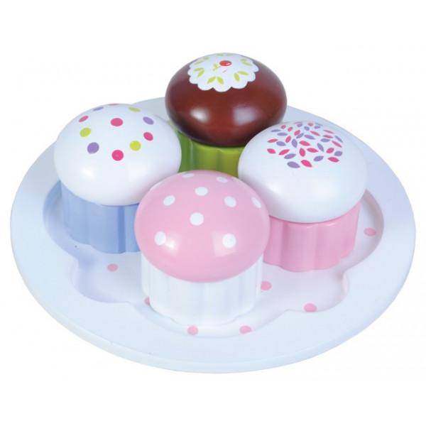 Cup cakes - 4 stuks