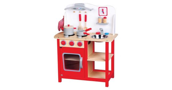 Houten Speelgoed Keuken : Houten speelgoed keuken bon appetit gratis verzending