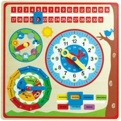 Kalender klok NL