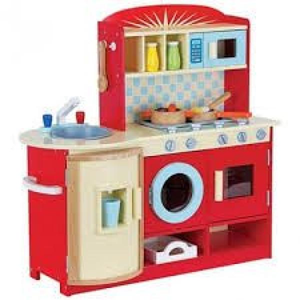 Keuken rood inclusief accessoires GRATIS VERZENDING