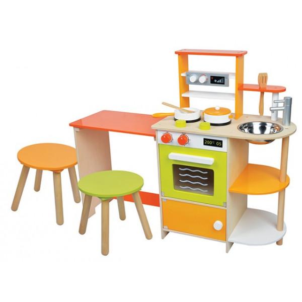 Kinderkeuken met zitgedeelte - GRATIS VERZENDING