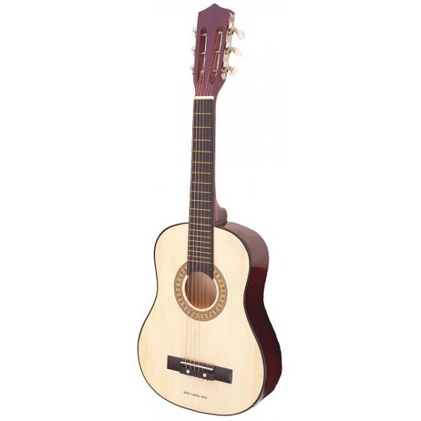 gitaar klassiek met gitaar tas - naturel - GRATIS VERZENDING