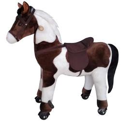 Mechanisch rijdend paard met geluid - Gratis verzending