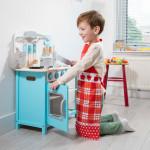 kinderkeuken - bon appetit - blauw - GRATIS VERZENDING