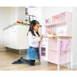 kinderkeuken - modern - elektrische kookplaat - roze - GRATIS VERZENDING
