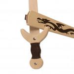 Zwaard met scheide draken motief 62 cm