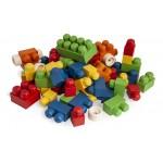 ANBAC TOYS 100 antibacteriële bouwstenen incl. Doos vanaf 12 maanden