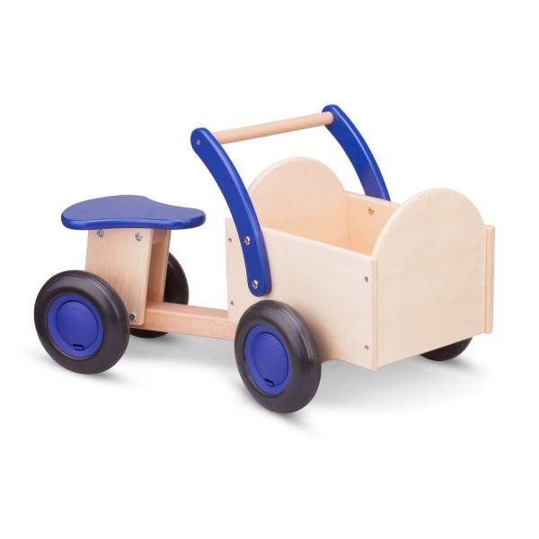 Bakfiets  blank  blauw - new classic toys