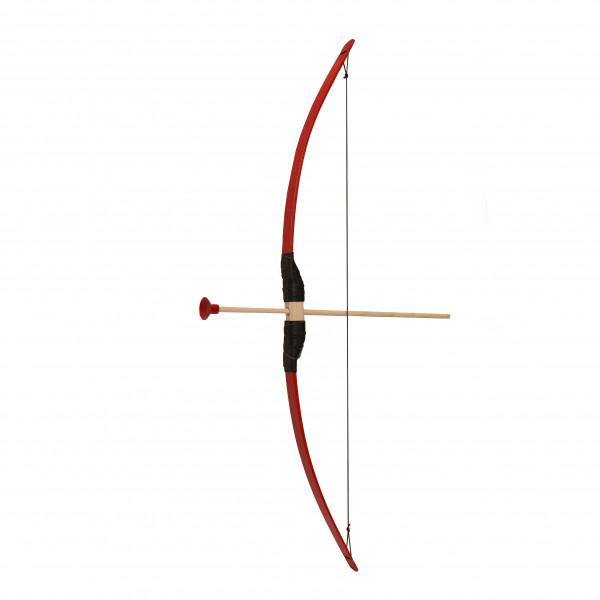 Pijl en boog lengte 80 cm rood