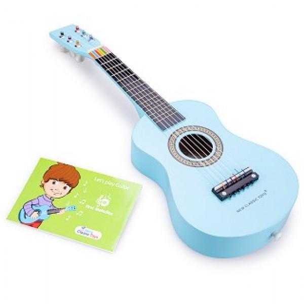 gitaar blauw - new classic toys