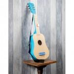 gitaar de luxe - blank/blauw - new classic toys