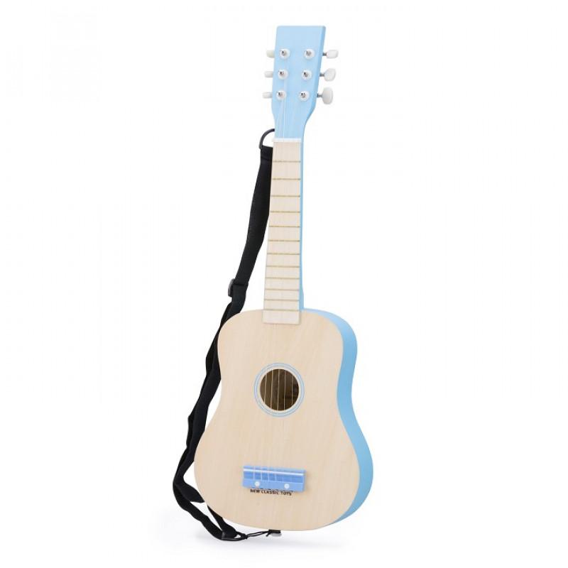 Verrassend gitaar blank/blauw - GRATIS VERZENDING BH-79