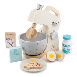 mixer set - wit - New Classic Toys