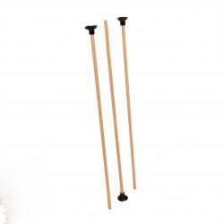 Pijlen voor Pijl en boog lengte 50 cm 3 stuks voor pijl en boog 100 en 120 cm