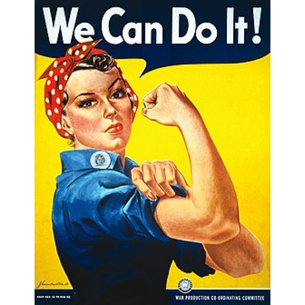 poster We can Do It-Rosie the Riveter-poster 61x91.5cm.