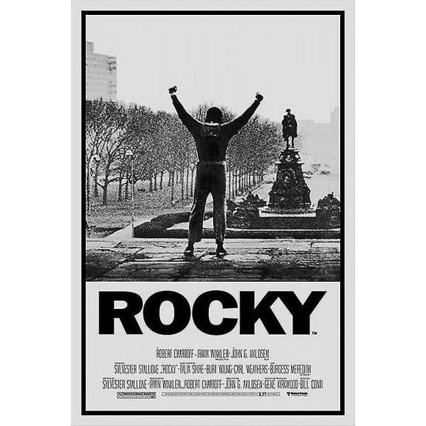 poster originele filmposter Rocky Sylvester Stallone 91,5 x 61 cm poster