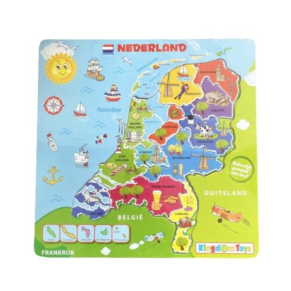 Legpuzzel Nederland met afbeeldingen