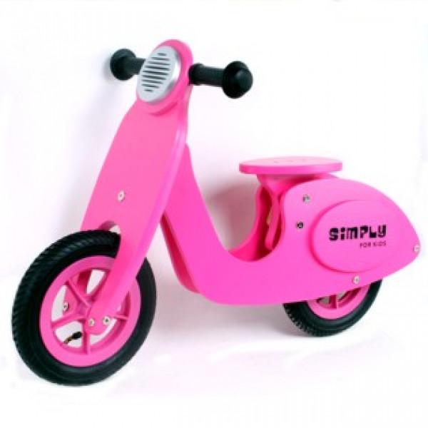 Loopfiets - Scooter - Pink  - GRATIS VERZENDING