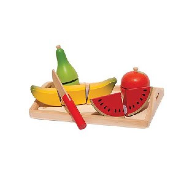 Snijset - Fruit op dienblad