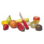 Snijset Fruit Hout in kistje