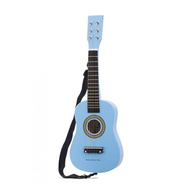 gitaar blauw - GRATIS VERZENDING