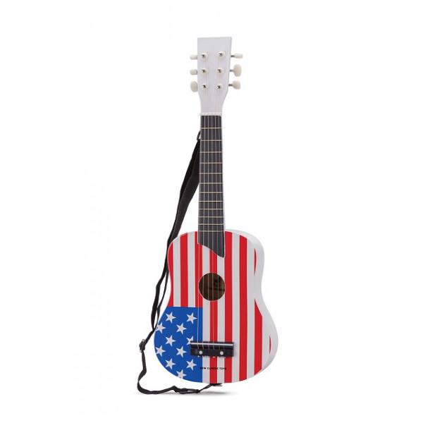 gitaar Vlag USA - GRATIS VERZENDING