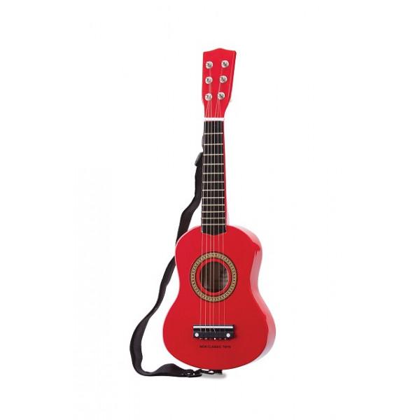 gitaar rood -  GRATIS VERZENDING