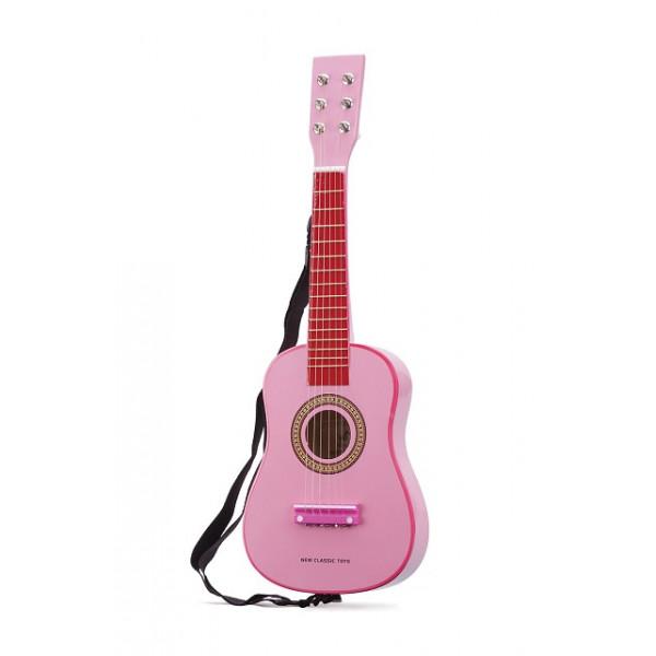 gitaar - roze - GRATIS VERZENDING