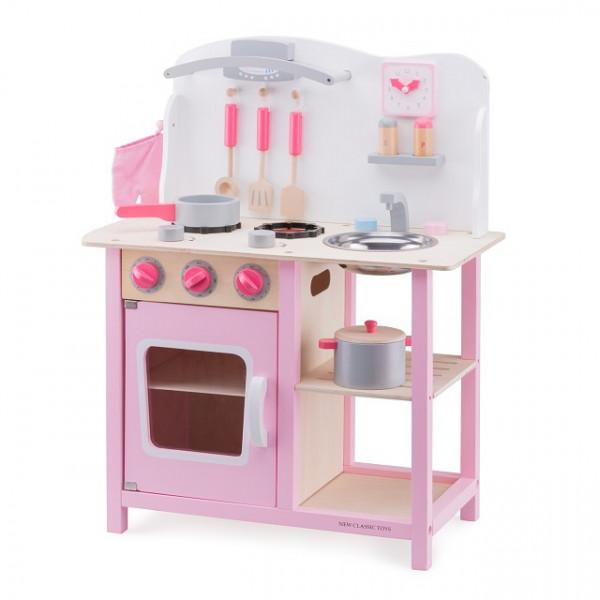 Houten speelgoed keuken Bon Appetit  ROZE - GRATIS VERZENDING
