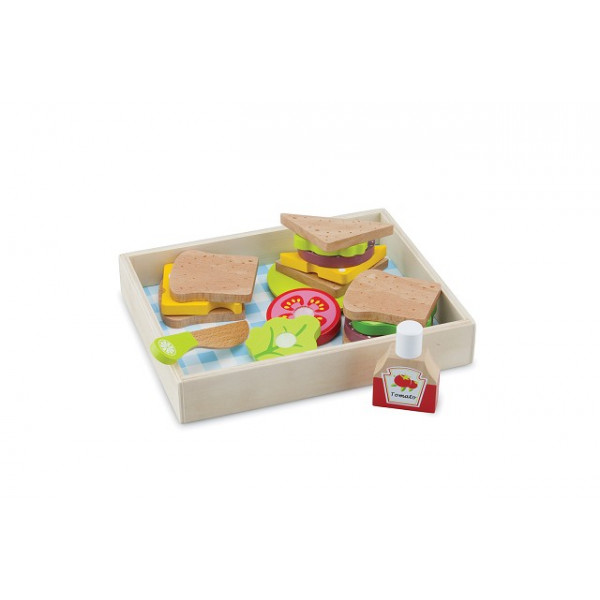 Lunch-Picknick set - box 18 delig