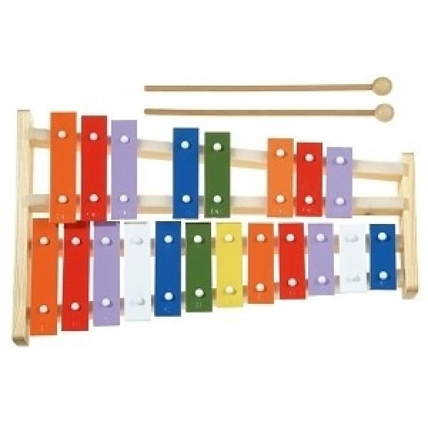 Metallofoon - 20 - toons - Gekleurd - New Classic Toys