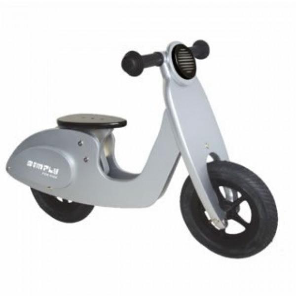 Loopfiets - Scooter - Zilver  - GRATIS VERZENDING