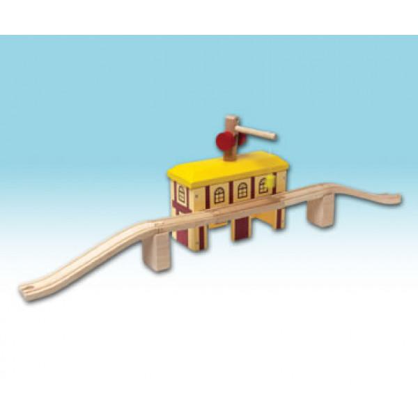Mentari Pakhuis met hijskraan & brug