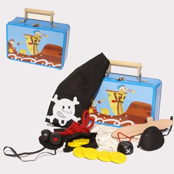 Piratenkoffer Simply for Kids 22743 Tinnen Indianen Koffertje
